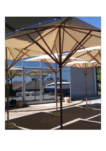 Sonnenschirme aus Holz