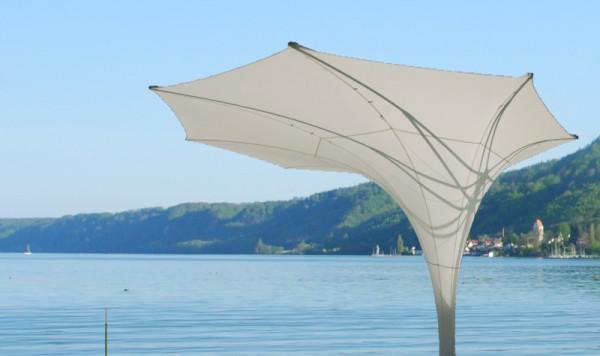 Sonnenschirm weiß